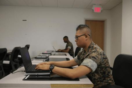 marines communications training instructor