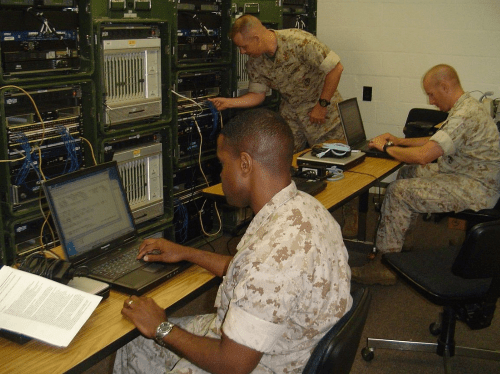 marines communications officer - mos 0602
