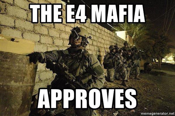 the E4 mafia approves