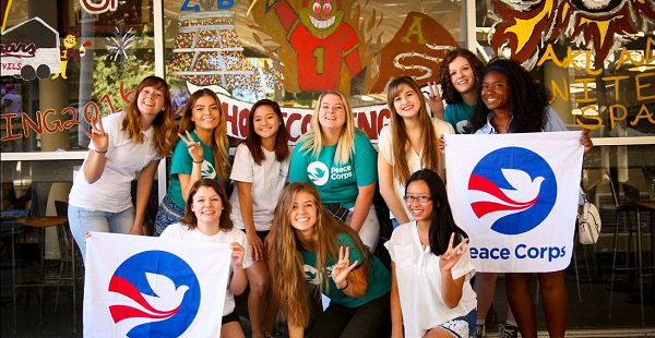 Alternatives to the military include the peace corps