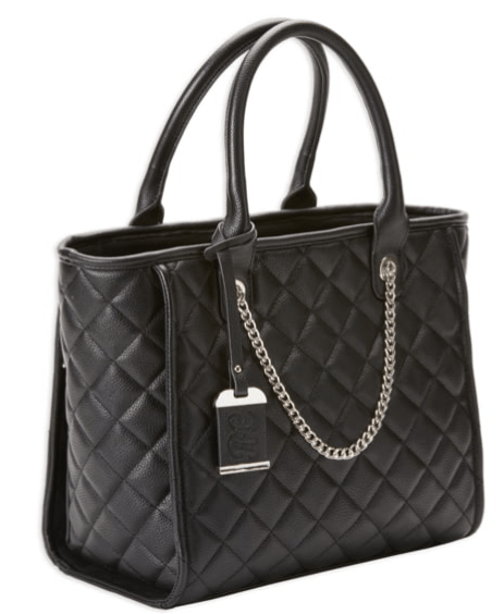 Bulldog Cases & Vaults Quilted Tote Style Purse