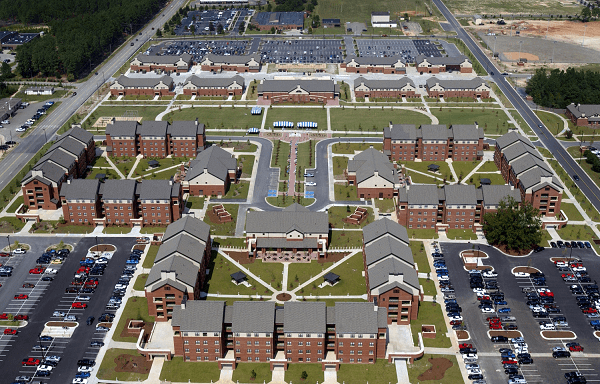 Fort Bragg is the biggest military base in the US
