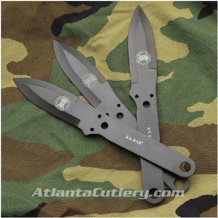 KA-BAR Throwing Knife Set