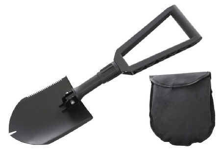 Overland Vehicle Systems Multi-Functional Military Style Utility Shovel