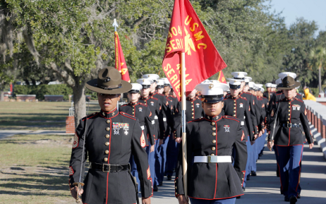 Marines have the best military uniform