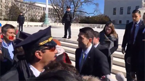 VIDEO:  Speaker Paul Ryan Addresses Exuberant Pro-Lifers At SCOTUS