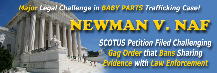 Newman Files Petition with Supreme Court Challenging Gag Order that Bans Sharing Evidence with Law Enforcement