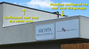 Roofing Contractor Leaves Abortion Facility Job Half Done After Learning Truth