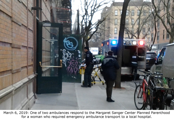 Margaret Sanger Planned Parenthood Sends 15th Woman to Hospital in 26 Months