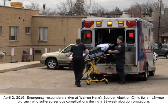 Just In! 911 Records Reveal Teen Suffered Serious 33-Week Abortion Complication At Hern's Clinic