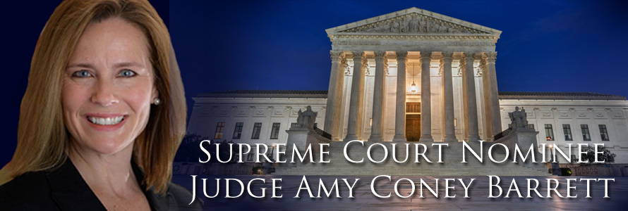 Pro-Life Judge Amy Coney Barrett Tapped by Trump as Ginsburg Replacement