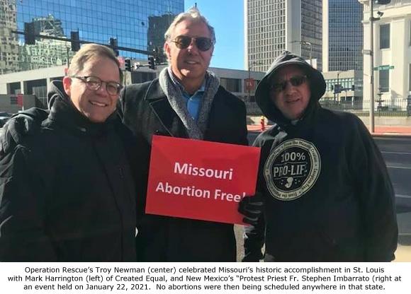 Abortion-Free Missouri Celebrates