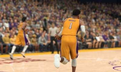 Los Angeles Lakers NBA 2K17