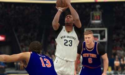 Anthony Davis NBA 2K17