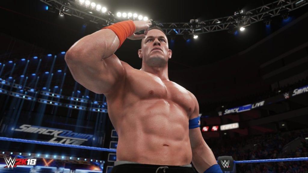 WWE 2K18 Screenshots Randy Orton And John Cena Operation Sports