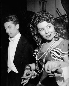 Carmen La Scala with Karajan 1955