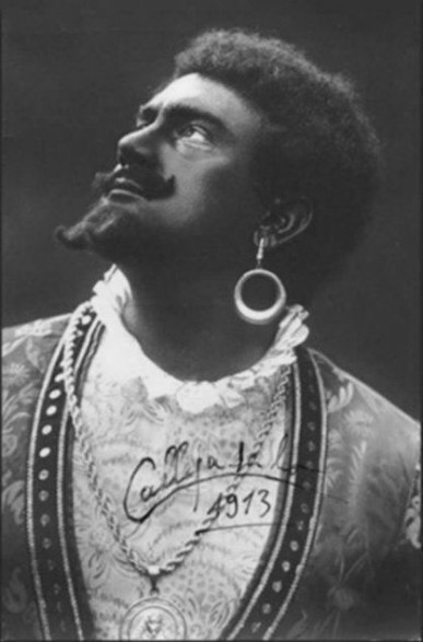 Calleja's reputable Otello, paralleled to Tamagno's, in 1913. Source: Emy Scicluna's personal archives.