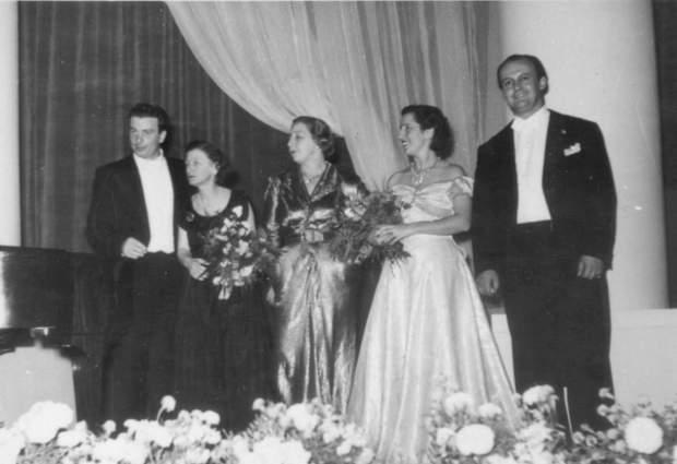 Tito Gobbi Orpheum Concert Nov. 1949