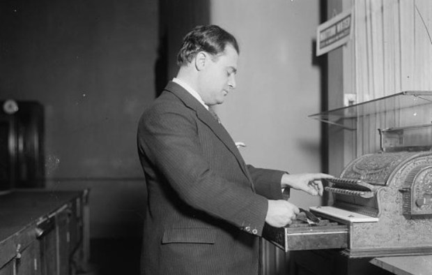 Image result for Beniamino Gigli with cash register, circa 1920