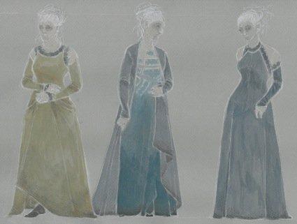 NORMA CLOTILDE FEMALE CORO GAULS