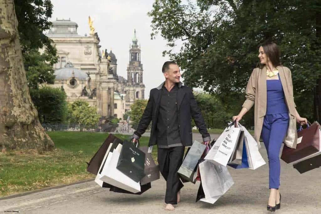 Shoppen in Dresden