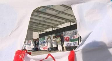 El hospital Puerta de Hierro, en huelga por los despidos y traslados | Madrid | EL PAÍS