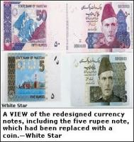 State Bank of Pakistan introduces new Rs5 and Rs50 banknotes