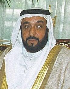 HH. Shaikh Khalifa Bin Zayed Al Nahyan