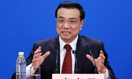 China's new premier, Li Keqiang