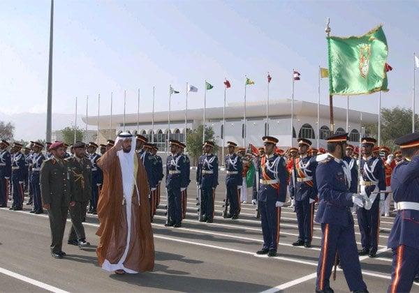 Highness-Sheikh-Khalifa-bin-Zayed-Al-Nahyan-President-of-the-United-Arab-Emirates-Supreme-Commander-of-the-UAE-Armed-Forces-is-taking-the-guard-of-honor2