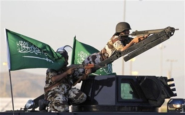 Saudi Forces - Image Copyright Opfblog.Com
