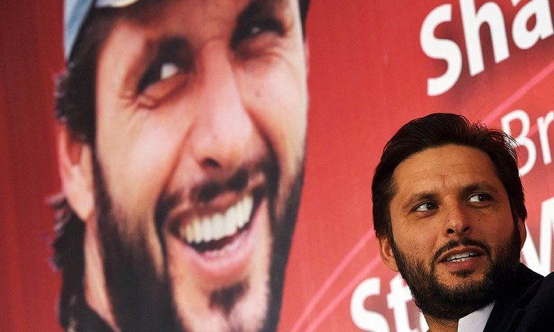 Afridi won hearts with his unorthodox, buccaneering style -- ignoring the coaching manual to rely on swagger and raw talent. AFP