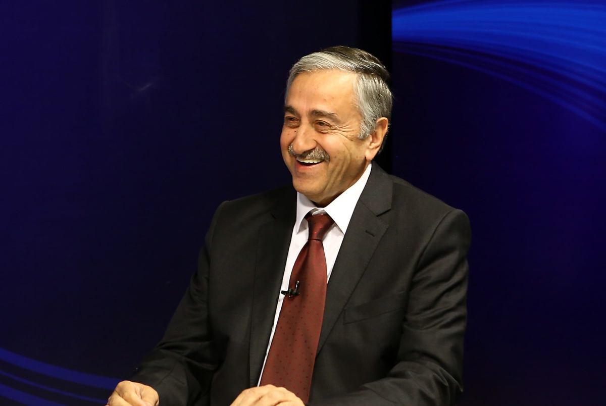 Mustafa Akinci is elected on 26 April 2015 as the fourth President of the TRNC