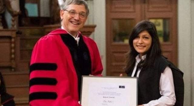 Pakistani student achieves highest honour at Oxford University