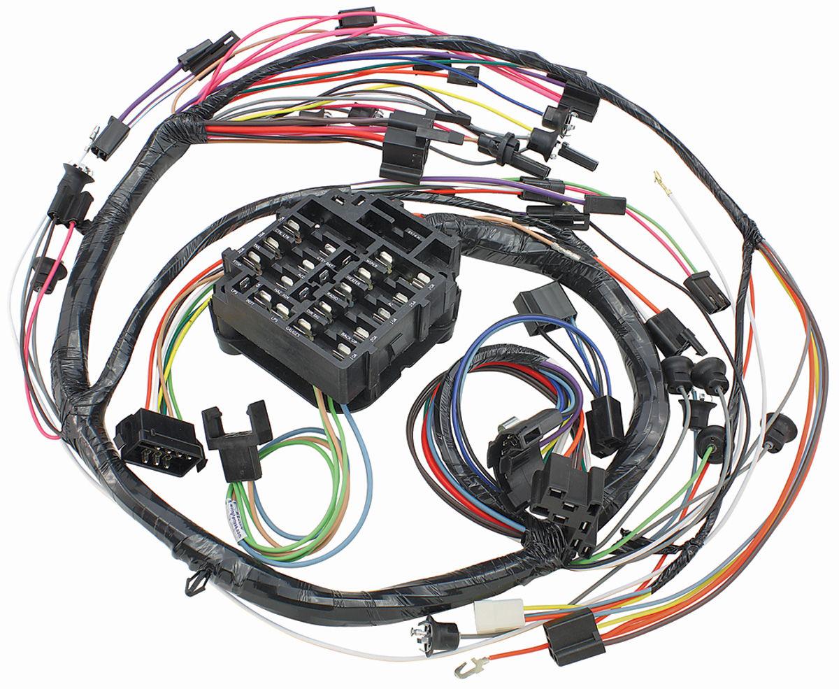 M&H El Camino DashInstrument Panel Harness console, auto