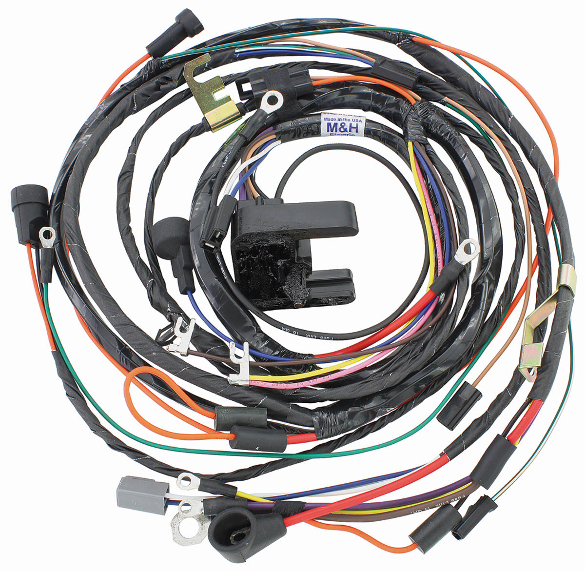 M&H 1972 Monte Carlo Engine Harness V8 (TH400 with