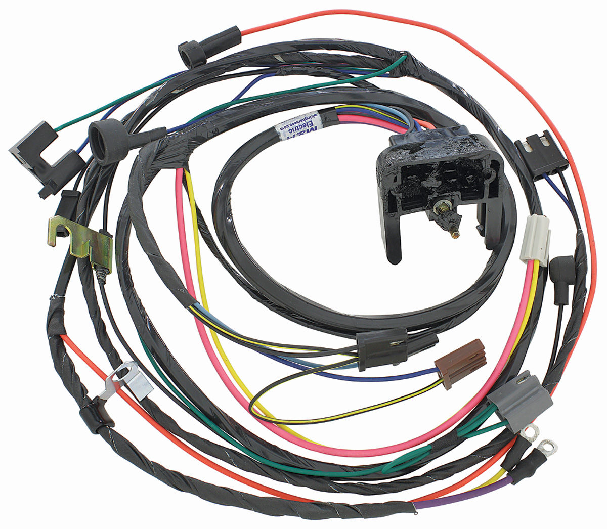 M&H Engine Harness 396454 HEI wmanual trans Fits 1970