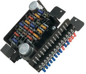 Painless Performance 196477 Chevelle Circuit Fuse Block