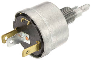 M&H 1968 El Camino Wiper Switch Assembly wo Recess Park