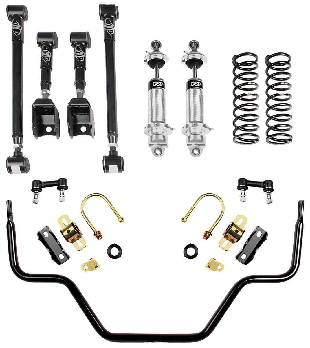 88 Monte Carlo Suspension Speed 3 Kit Rear By Detroit Speed For Years