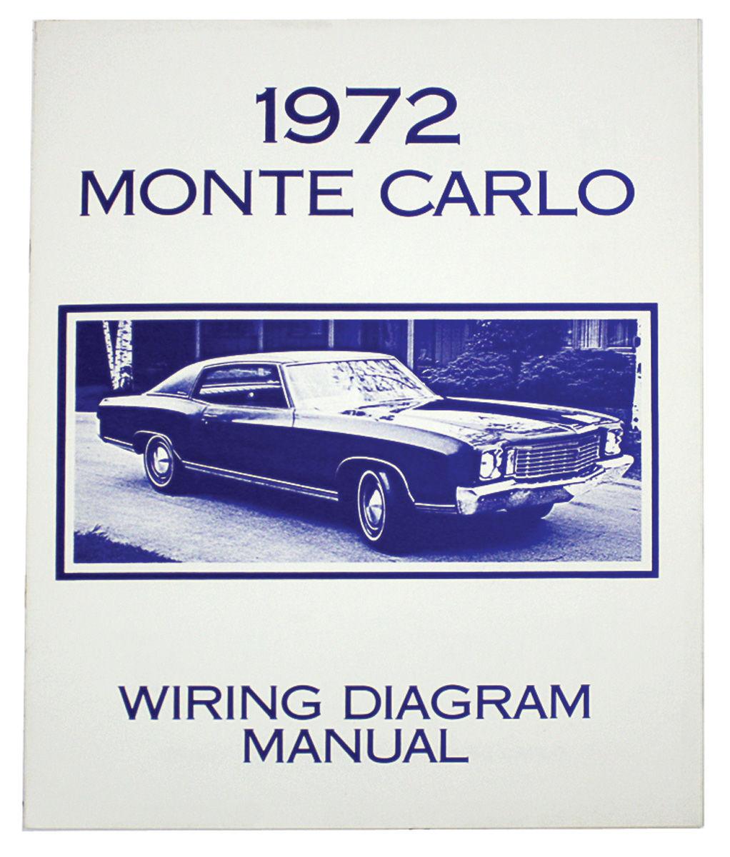 Monte Carlo Wiring Diagram Manuals Fits 1976 Monte Carlo @ OPGI