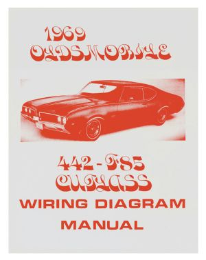 1969 Cutlass Wiring Diagram Manuals @ OPGI