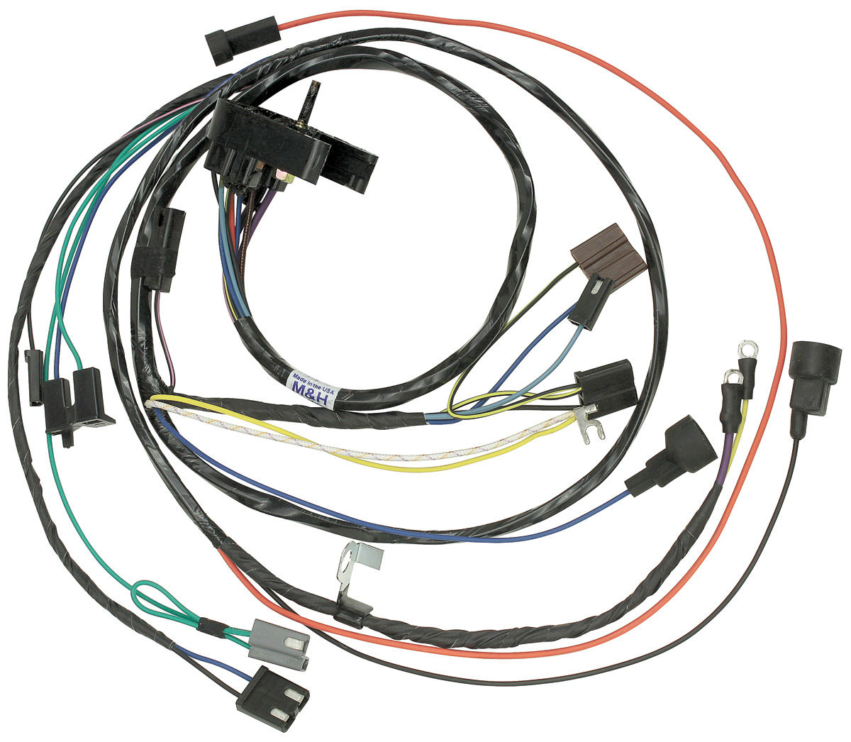 1970 chevelle engine harness v8 w auto trans click to enlarge