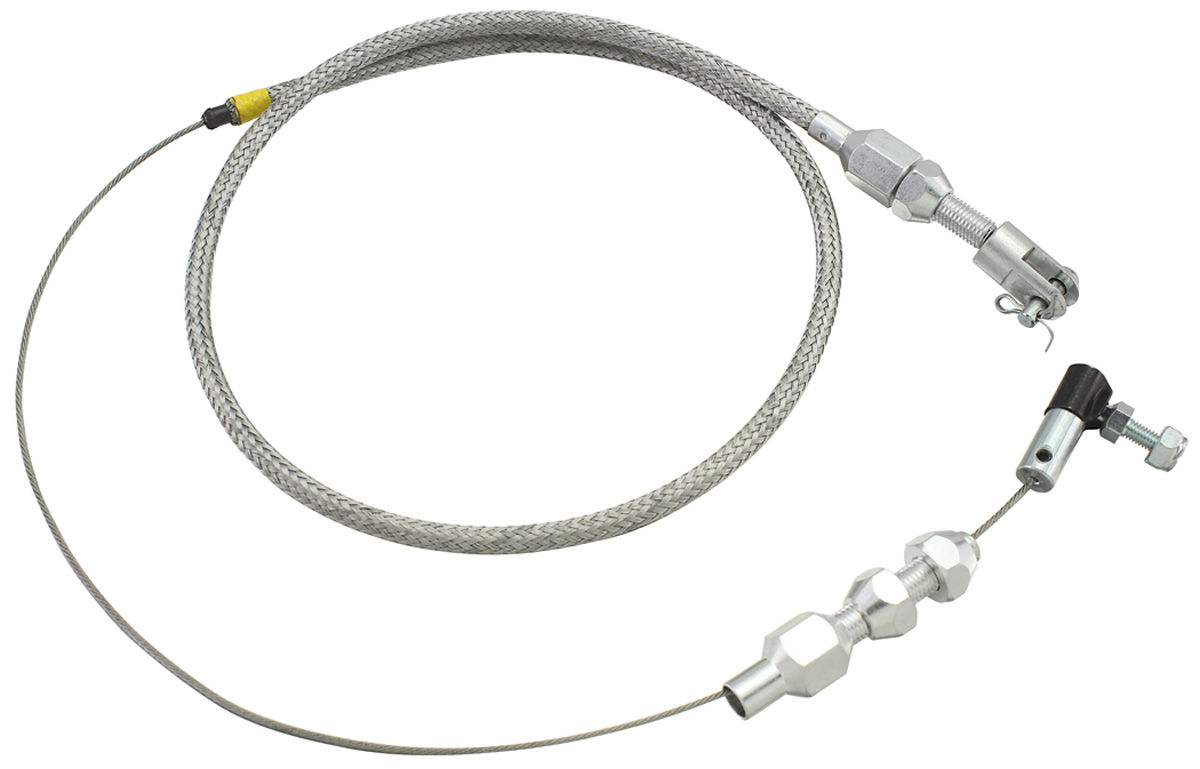 Chevelle Throttle Cable Braided Stainless Steel Fits