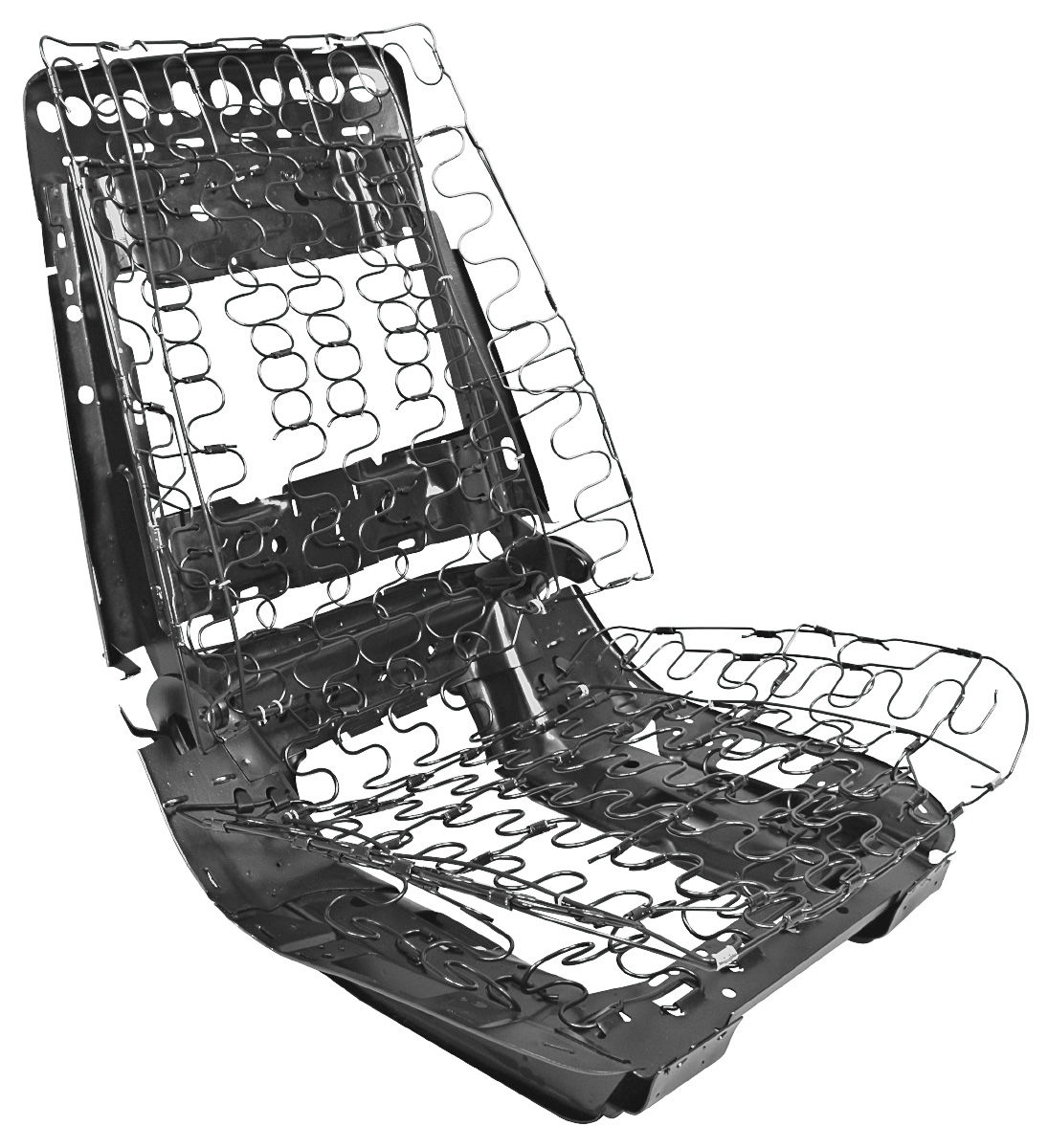 72 Chevelle Seat Frame Assembly Bucket Seat For
