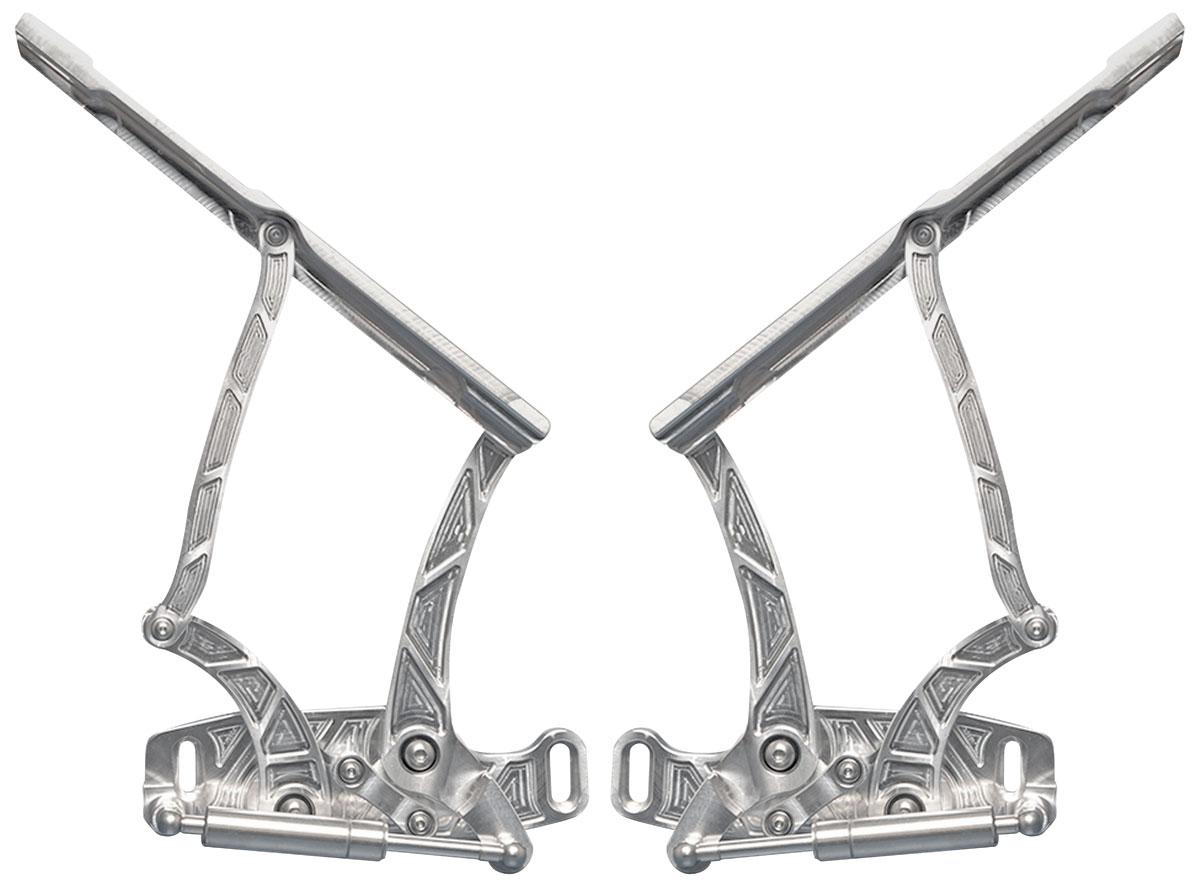 Edmotorsports Hood Hinges Billet Aluminum For