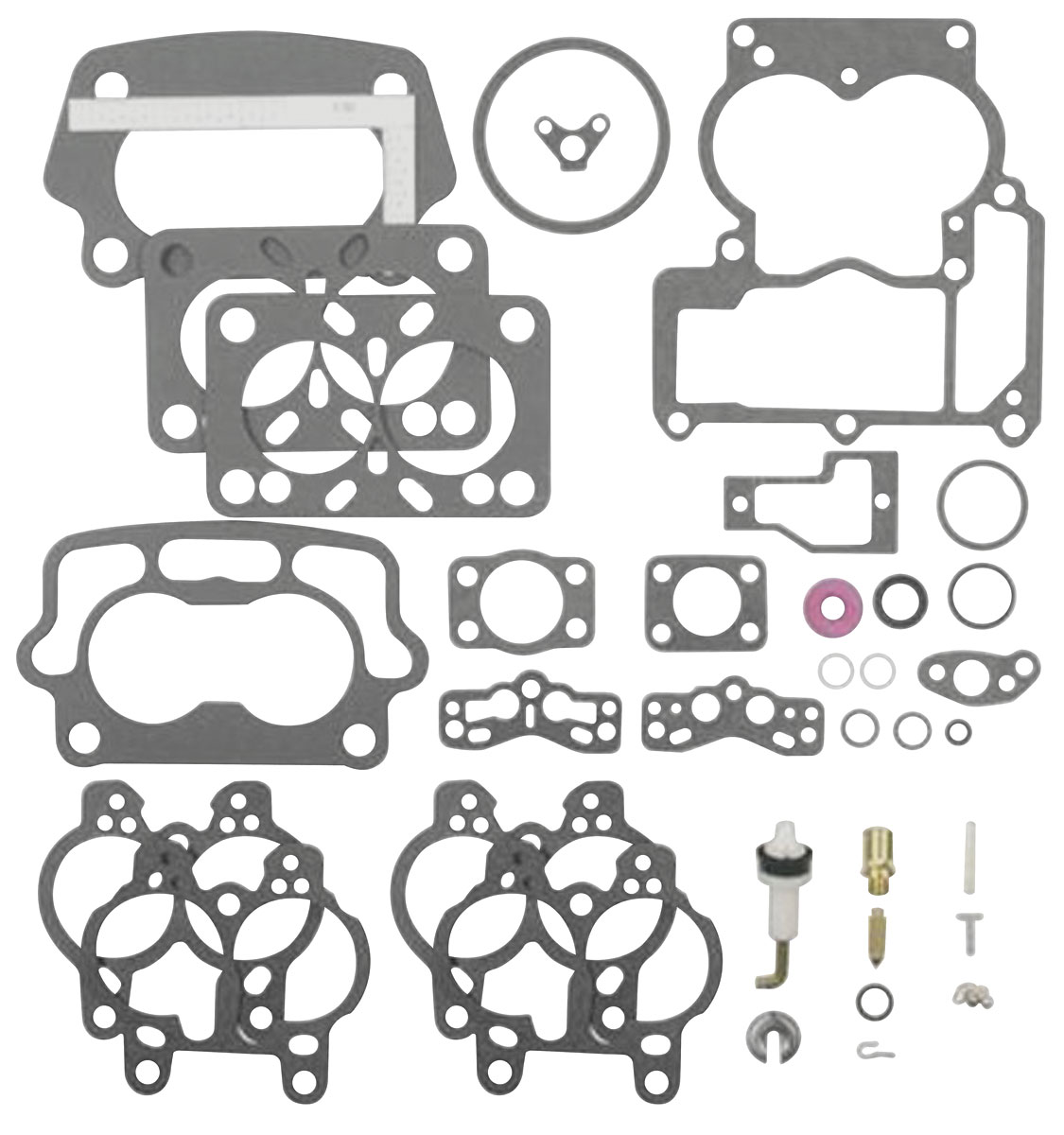 Gto Carburetor Rebuild Kit Tri Power Center Carburetor