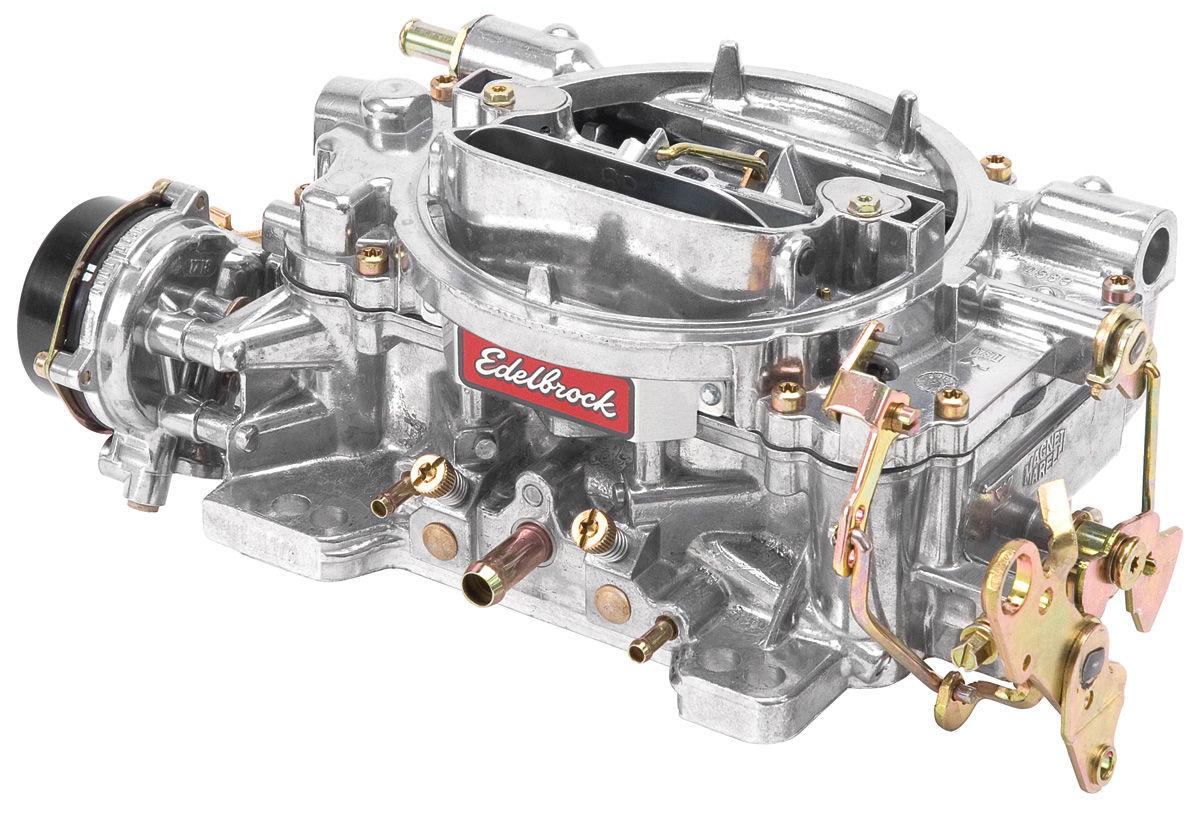 Edelbrock Carburetor 600 CFM Electric Choke Fits 1959 77 Grand Prix