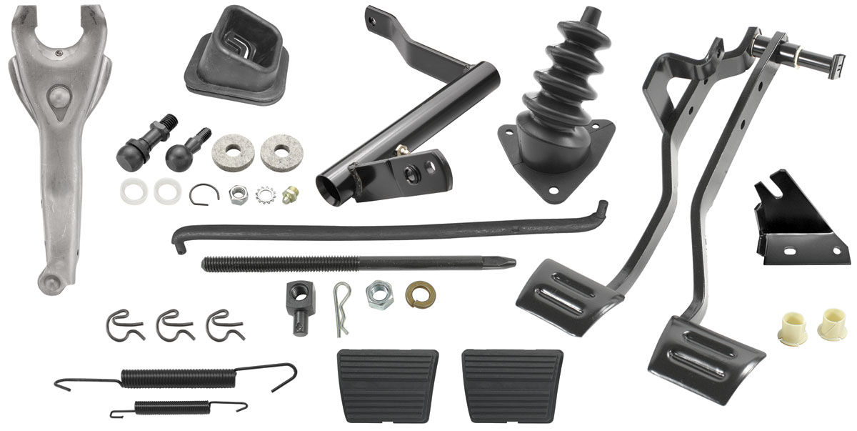 Clutch Linkage Kit Complete Fits 1970 72 Monte Carlo