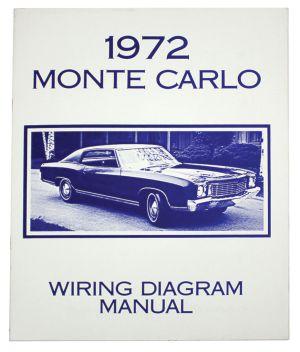 Monte Carlo Wiring Diagram Manuals Fits 1971 Monte Carlo